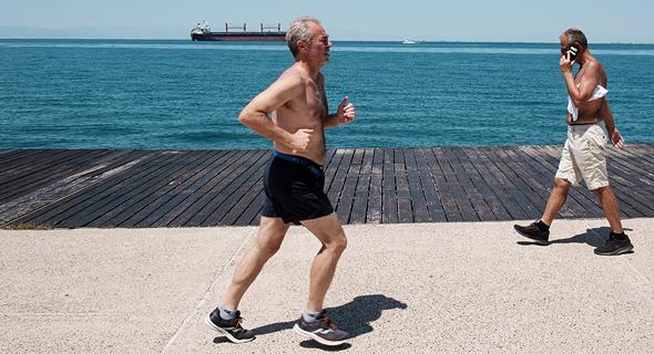 Running workout (illustration). Photo: AFP