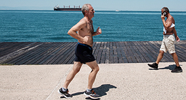 Running workout (illustration). Photo: AFP