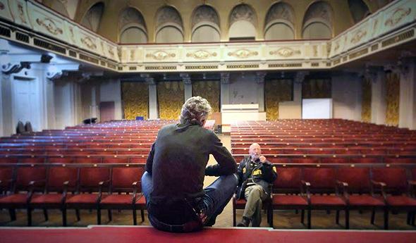 מוקי ואבא שלו בלטביה , צילום: באדיבות כאן 11 התאגיד
