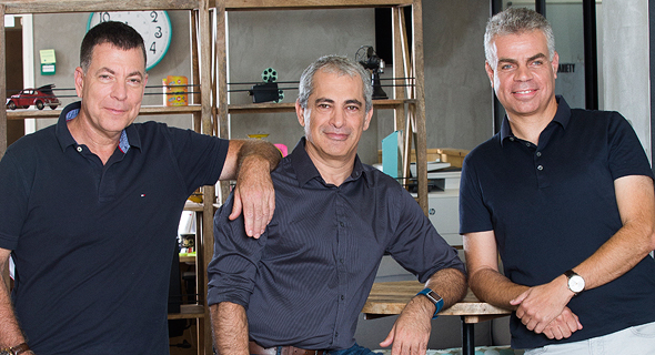 Iguazio co-founders Yaron Segev (left), Yaron Haviv, and Asaf Somekh. Photo: Yanai Yechiel