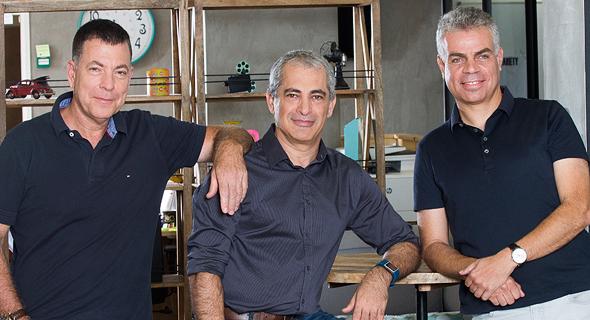 מייסדי Iguazio. מימין: אסף סומך, ירון חביב וירון שגב
