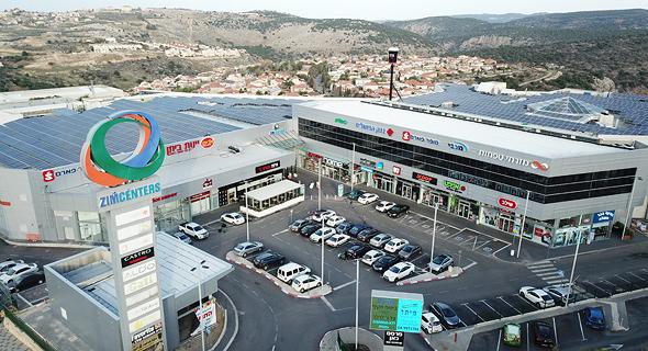 מרכז קניות רני צים ב מעלות