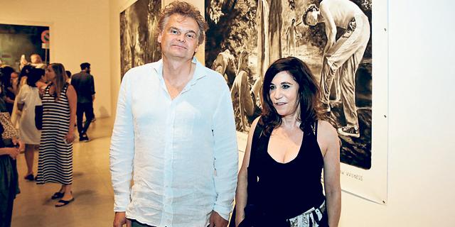 """ראו את האור: צמד האמנים מונטאן/רוזנבלום במוזיאון ת""""א"""