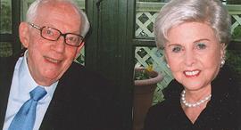 מייסדי פרדו ריימונד נפטר ב 2017 ואשתו בוורלי סאקלר, צילום: Perdue Pharma