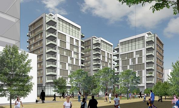 הדמיית פרויקט שוק העליה, הדמיה: קאנטרי קהילתי - ציונוב ויתקון אדריכלים