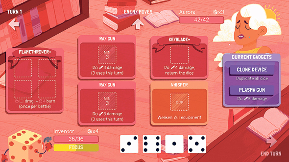 Dicey Dungeon game