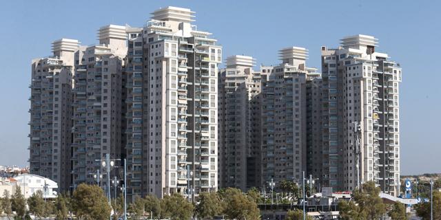בנייני מגורים בראשון לציון, צילום: אוראל כהן