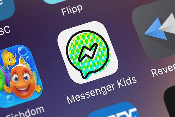 פייסבוק מסנג'ר KIDS ילדים קטינים צ'ט, צילום: שאטרסטוק