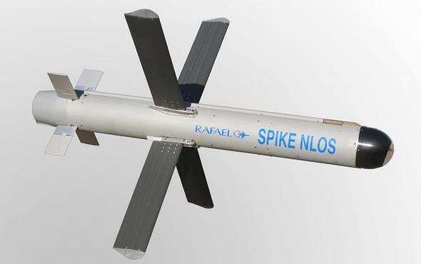 טיל ספייק SPIKE NLOS של רפאל, צילום: רפאל