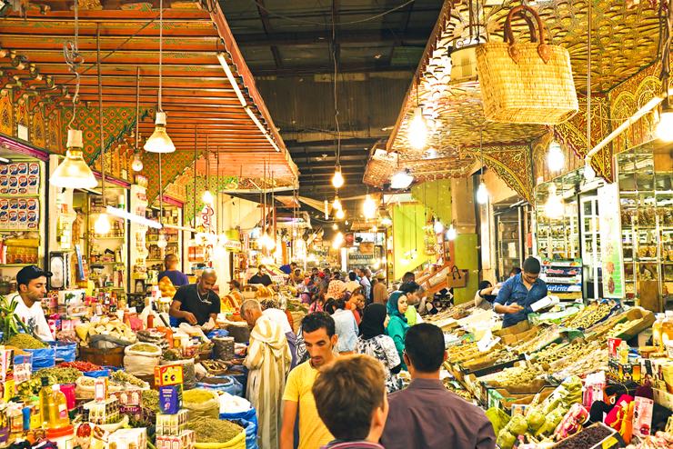 השוק של פז במרוקו, צילום: שאטרסטוק