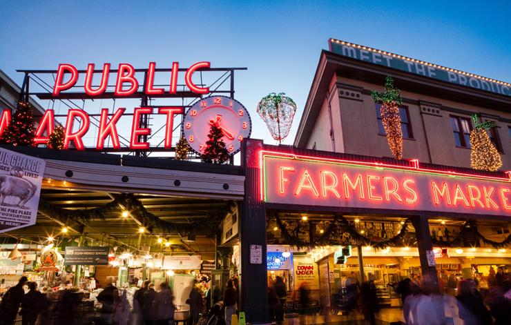השוק בסיאטל, צילום: visitvictoria