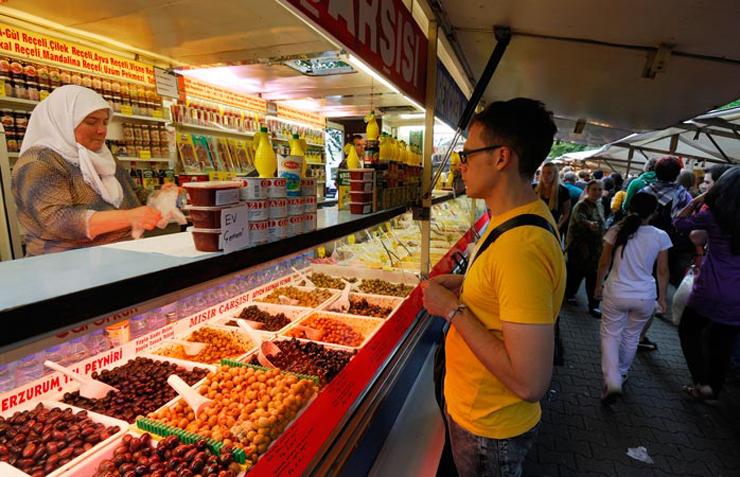 השוק הטורקי בברלין, צילום: מומונדו