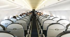 מטוס חצי ריק, צילום: שאטרסטוק