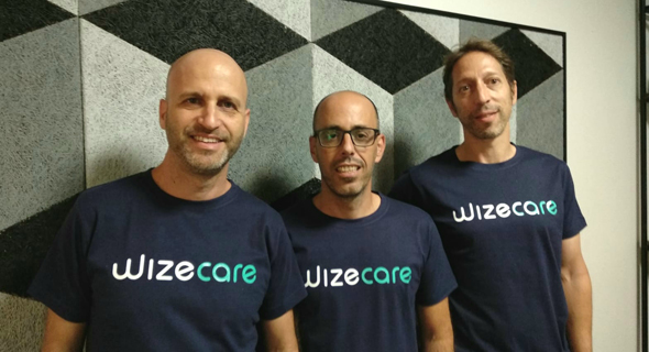 Shai David (left), Roy Shteren, Yoav Bachrach. Photo: WizeCare Technologies