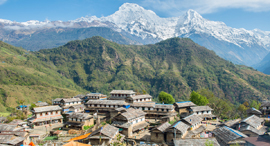 פוטו עיירות ציוריות באסיה נפאל Ghandruk, צילום: שאטרסטוק