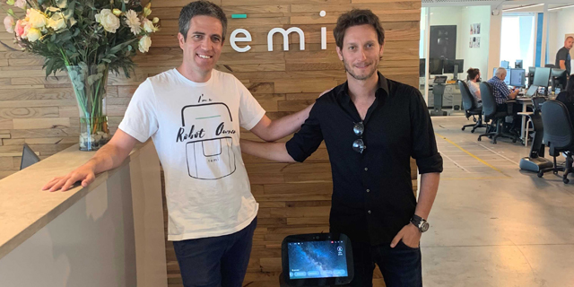 Israeli Mentalist Lior Suchard Joins Personal Assistant Robot Developer Temi