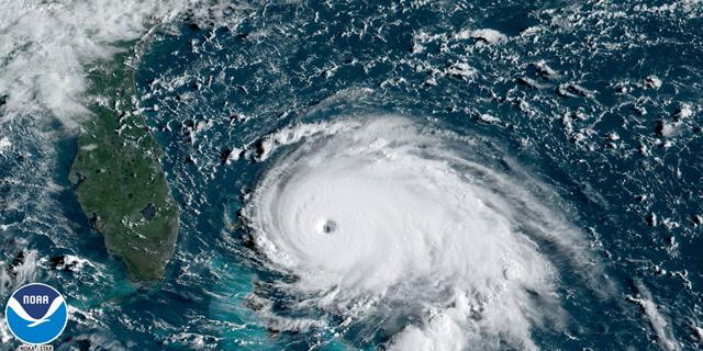 הוריקן דוריאן, צילום: רויטרס