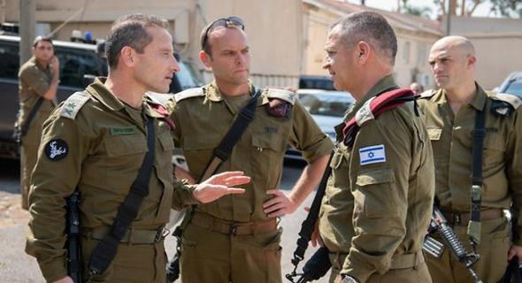 """תרגיל והחלפת דובר צה""""ל נדחו. הרמטכ""""ל כוכבי, צילום: ynet"""