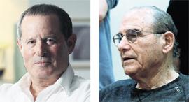 מימין: גד זאבי ומאיר שמיר. עדיין חזק במרוץ, צילומים: אוראל כהן, שאול גולן