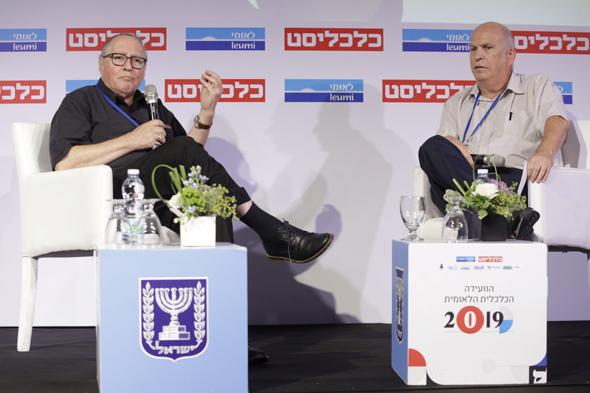 אליקים רובינשטיין בשיחה עם הפרשן הכלכלי של כלכליסט משה גורלי