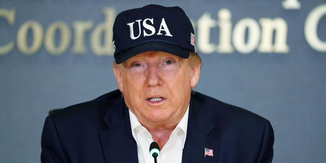 לא מאוהדי בזוס. טראמפ, צילום: AP