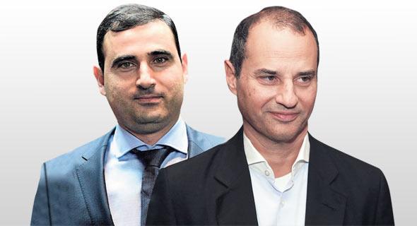 מימין: יקיר גבאי ואמיר דיין