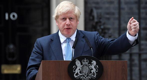 ראש ממשלת בריטניה בוריס ג'ונסון. אתגר לא פשוט לפניו