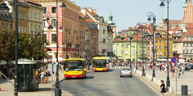רחוב בפולין זירת הנדלן, קרדיט: Pixabay
