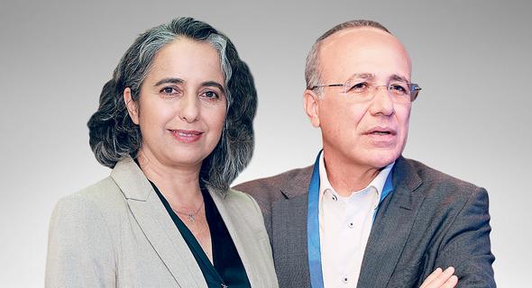 משה ברקת וענת גואטה, צילום: אוראל כהן