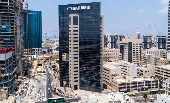מגדל נצבא ב תל אביב, צילום: Offispaces