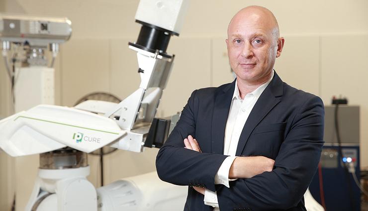 """מיכאל מאראש מייסד P-CURE. גייסה 30 מיליון דולר, מפתחת טכנולוגיה לטיפול בסרטן באמצעות קרני פרוטונים. """"מעירים לי שאני דומה לפוטין"""""""