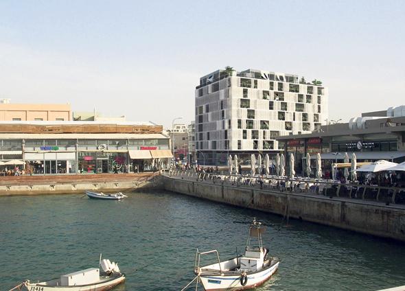 """הדמיית מלון Port TLV בת""""א"""