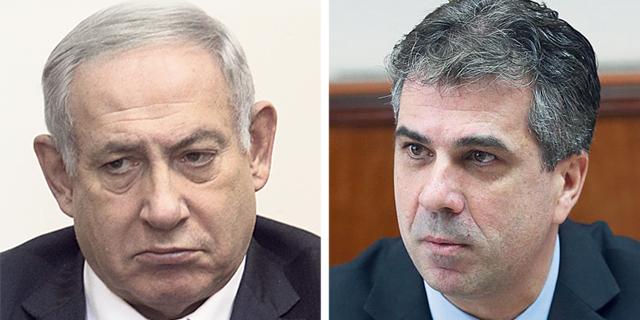שר הכלכלה והתעשיה אלי כהן וראש הממשלה בנימין נתניהו, צילומים: עמית שאבי, אוהד צויגנברג