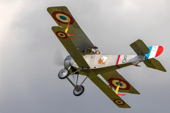 מטוס ניופורט 17 צרפתי ממלחמת העולם הראשונה, צילום: שאטרסטוק
