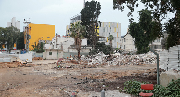 """קרקע בפרויקט יוניטד שרונה 2 זירת הנדל""""ן, צילום: אוראל כהן"""