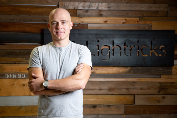 Lightricks CEO and co-founder Zeev Farbman. Photo: Alex Kolomvisky