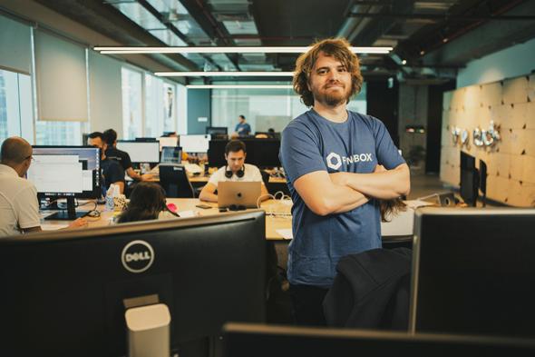 Dima Broslavsky, chief architect at Fundbox. Photo: Tomi Harpaz