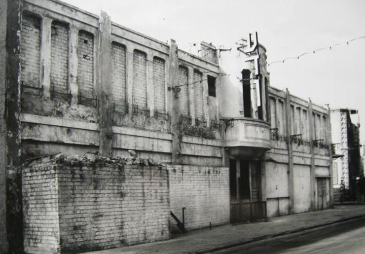 המבנה נטוש משנות ה-80. דרוש לתיירים היום הרבה דמיון