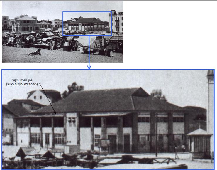 קולנוע החורף - המקורי והראשון שהוקם במתחם