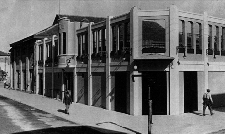 קולנוע הקיץ לאחר שנבנה ב-1927