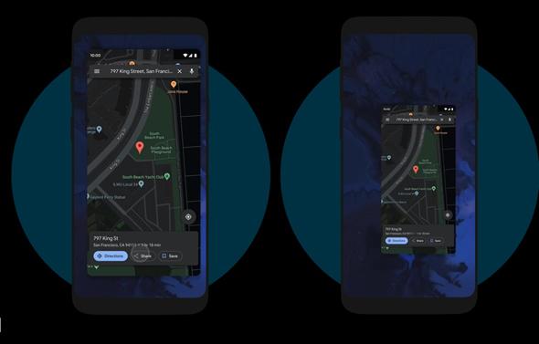 למשל, סווייפ כלפי מעלה מתחתית המסך יקטין את האפליקציה הפעילה ויעביר אתכם למסך הבית, צילום: אתר אנדרואיד של גוגל