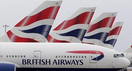 מטוסים של בריטיש איירווייס, צילום: גטי אימג'ס