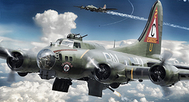 מלחמת העולם השנייה מפציץ B17 הקברניט 1, צילום: yousens