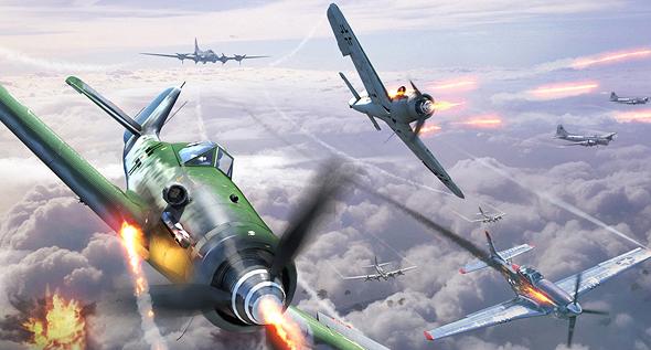 מטוסי קרב מיירטים מבנה B17
