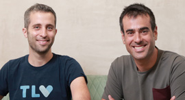 Vim co-founders Oron Afek (right) and Asaf David. Photo: Orel Cohen