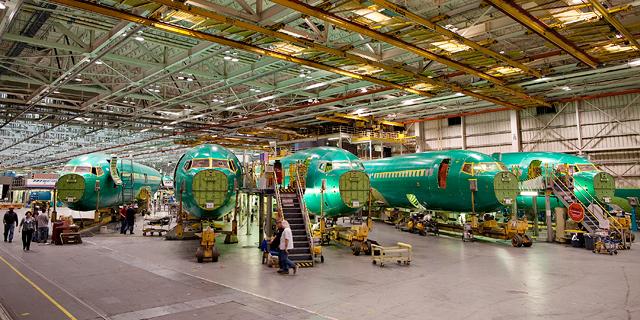 ענף ייצור המטוסים מתכונן להמראה