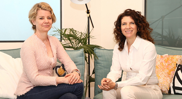 Alexa Gorman, Head of SAP.iO Foundries Europe (left) and Orna Kleinmann, managing director of SAP Labs Israel. Photo: Amir Levi