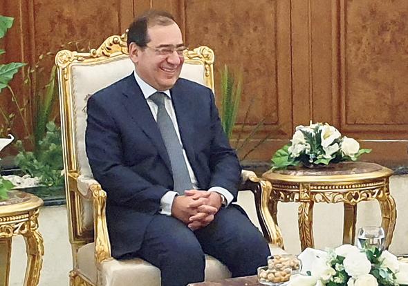 שר האנרגיה המצרי טארק אל מולה. אישר באבו דאבי את העיסקה מול ישראל