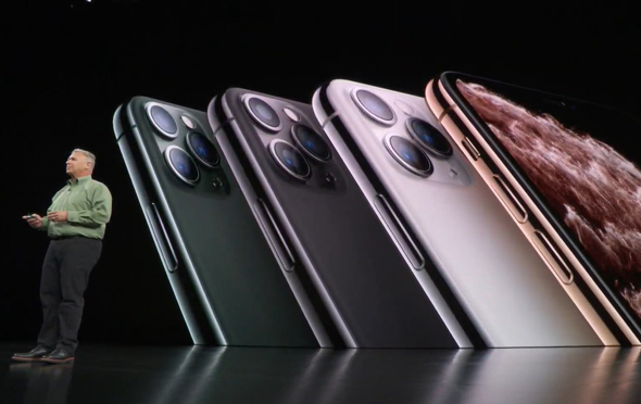 צבעי האייפון 11 פרו