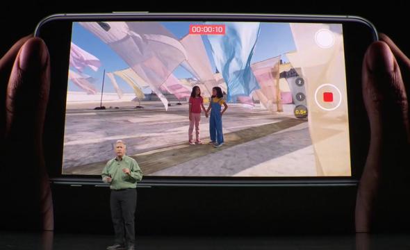 ממשק מצלמת הווידאו